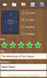 Cool Reader скриншот 7