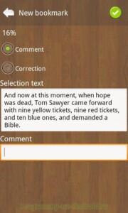 Cool Reader скриншот 8