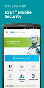 ESET Mobile Security скриншот 1