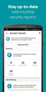 ESET Mobile Security скриншот 4