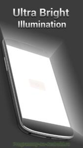 Фонарик - Tiny Flashlight скриншот 2