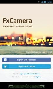 FxCamera скриншот 1