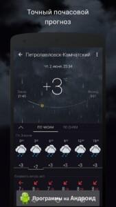 Gismeteo (Гисметео) скриншот 2