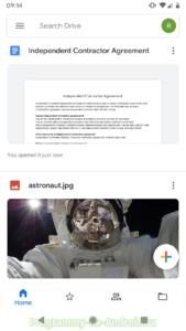 Google Диск скриншот 1