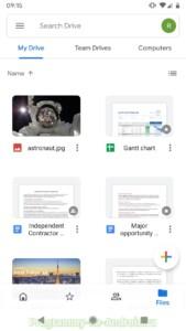 Google Диск скриншот 3