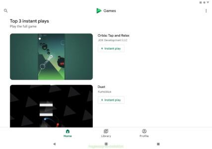 Google Play Игры скриншот 7