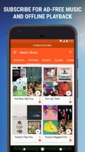 Google Play Музыка скриншот 7