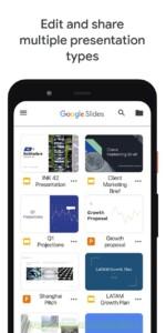 Google Презентации скриншот 4