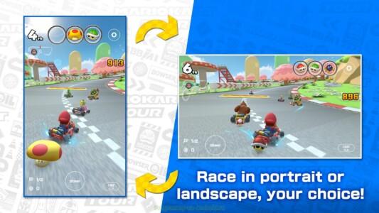 Mario Kart Tour скриншот 1