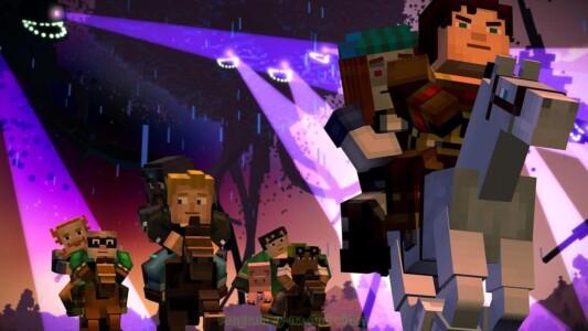 Minecraft: Story Mode скриншот 2