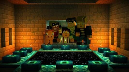 Minecraft: Story Mode скриншот 4