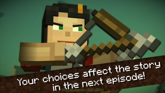 Minecraft: Story Mode скриншот 5