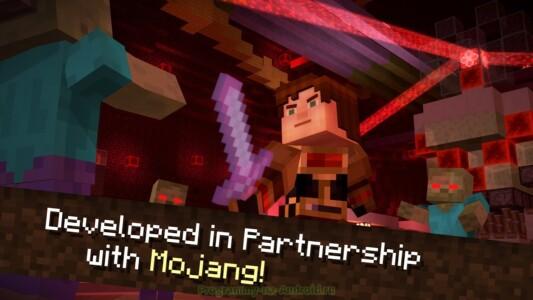 Minecraft: Story Mode скриншот 7