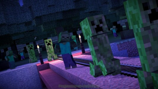 Minecraft: Story Mode скриншот 8