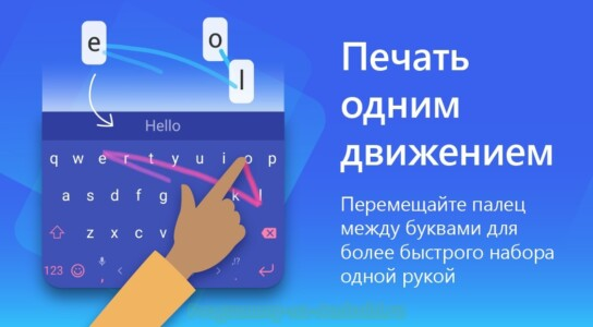 Клавиатура SwiftKey скриншот 5