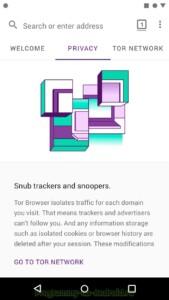 Tor Browser скриншот 2