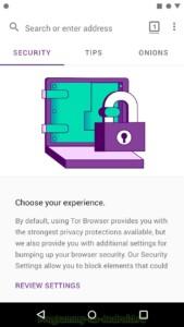 Tor Browser скриншот 4