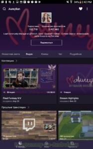 Twitch (Твич) скриншот 13