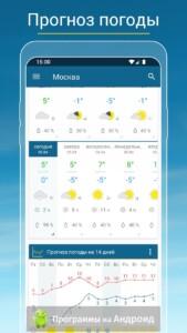 Погода & Радар скриншот 3