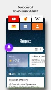 Яндекс.Браузер скриншот 1