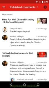 Творческая студия YouTube скриншот 6